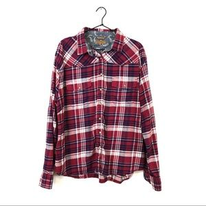 JACHS Girlfriend Comfort Stretch Flannel